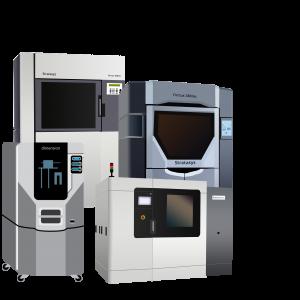 Machines Fortus Series, gamme Stratasys, pour les impressions 3D en FDM (dépôt de fil fondu), disponible dans notre entreprise SMART 3D